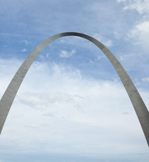 Even with the quick overnight trip, I had a chance to walk over to the St. Louis Arch. Amazing!