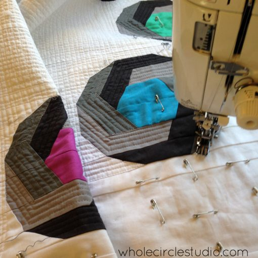 Quilting Shutter Snap. Design and pattern by Sheri Cifaldi-Morrill | www.wholecirclestudio.com