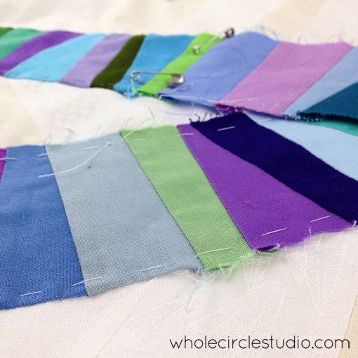 Day 123: 365 Days of Handwork Challenge —   Chugging along. Whole Circle Studio — 365 Days of Handwork Challenges