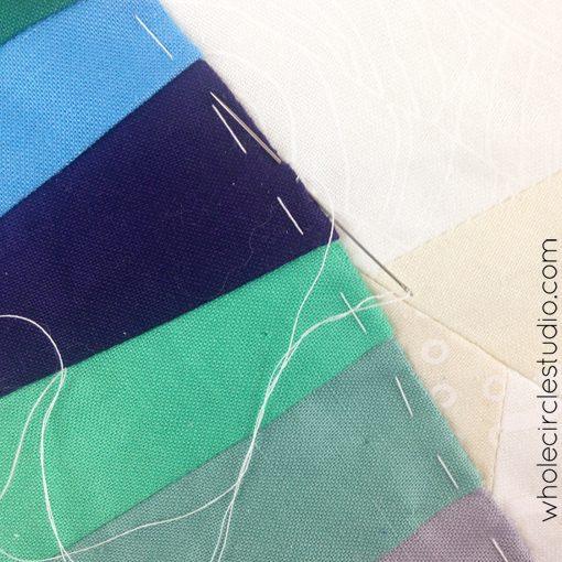 Day 125: 365 Days of Handwork Challenge —   The last stitch! Whole Circle Studio — 365 Days of Handwork Challenges