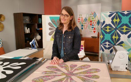 Season 2 Fresh Quilting: designer, pattern publisher and award-winning quilter Sheri Cifaldi-Morrill