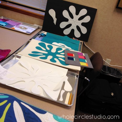 Prep work for Fresh Quilting Season 2: Designing your own Hawaiian inspired patterns by Sheri Cifaldi-Morrill | Whole Circle Studio