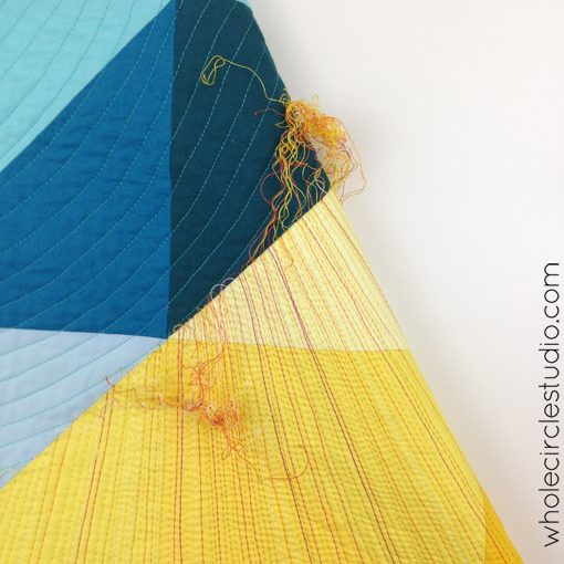 Day 174: 365 Days of Handwork Challenge — Last of the thread burying. Whole Circle Studio — 365 Days of Handwork Challenges