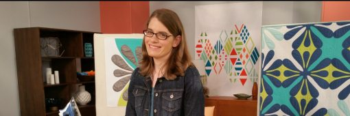 Sheri Cifaldi-Morrill on Fresh Quilting Season 2. Hawaiian-inspired Quilt Design.