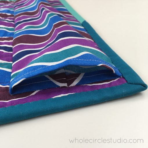 Quilt Sleeve | Handwork | Sewn | Whole Circle Studio — 365 Days of Handwork Challenges