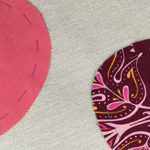 Applique | Basting | Needle Turn Applique | Hawaiian Quilt | Hawaiian inspired |