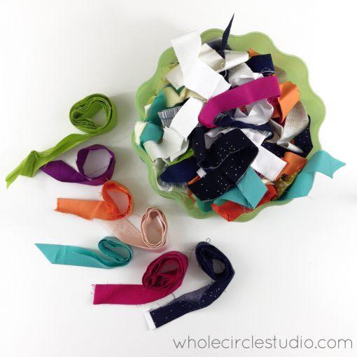 Scrap binding | Binding | Quilt | Quilt Binding Ideas