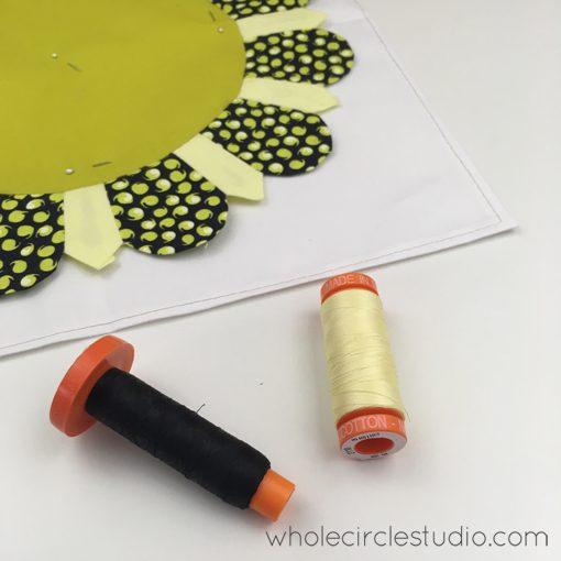 English Paper Piecing | Paper Piecing | Katja Marek | Aurifil | Block of the Month | Pat Sloan | Whole Circle Studio — 365 Days of Handwork Challenges