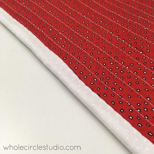 quilt | quilt binding | handwork | sewing | aurifil | Whole Circle Studio — 365 Days of Handwork Challenges