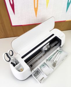 cricut maker | compact | storage | review | quilting | fabric