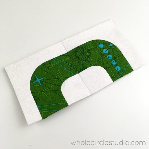English Paper Piecing | epp | quilt | prototype | typography | type | letters | modern quilt