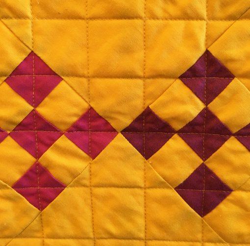 Ann Arbor Modern Quilt Guild   QuiltCon 2018   Irish Chain   quilt   modern   modern traditionalism