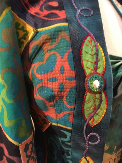wearable art, Gilbert Muniz, hand embroidery, emblishment, fashion
