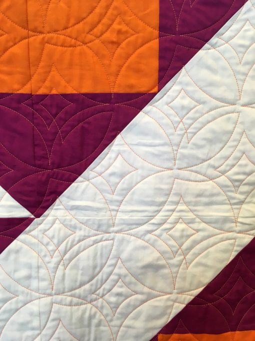 Delaware Modern Quilt Guild | QuiltCon 2018 | Grandmother's Choice block | quilt | modern | modern traditionalism