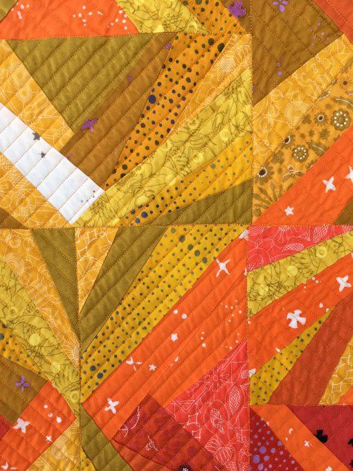 Lake Superior Modern Quilt Guild | QuiltCon 2018 | improv | Crazy Quilt | quilt | modern | modern traditionalism