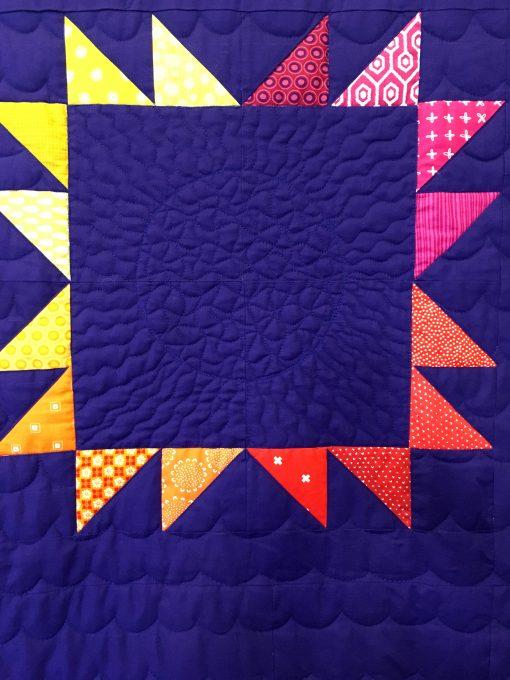 Niagara Modern Quilt Guild | QuiltCon 2018 | bear paw block | quilt | modern | modern traditionalism