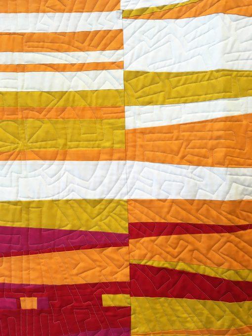 Orlando Modern Quilt Guild | QuiltCon 2018 | improv | quilt | modern | modern traditionalism