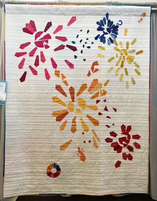 Lake Superior Modern Quilt Guild | QuiltCon 2018 | dresden plate | quilt | modern | modern traditionalism