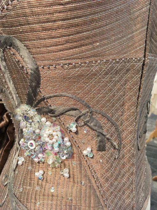 wearable art, Gilbert Muniz, hand embroidery, embelishment, fashion, machine quilted, silk