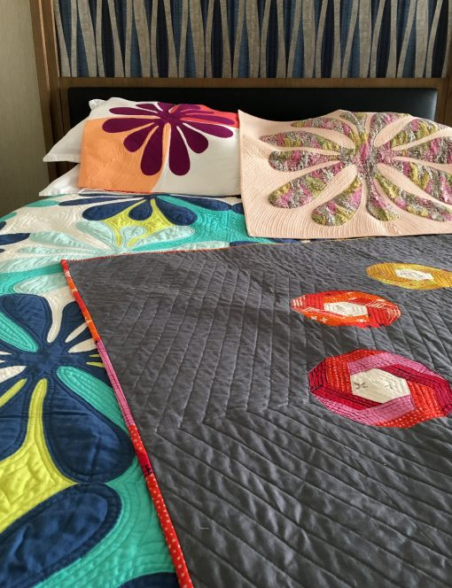 QuiltCon | QuiltCon 2018 | Teaching | Workshop | Hawaiian | Applique | Paper Piecing | Sheri Cifaldi-Morrill