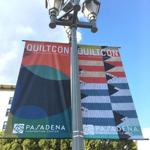 QuiltCon 2018 | Street Banner | Modern Quilts