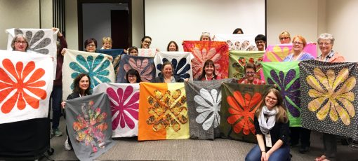 QuiltCon | QuiltCon 2018 | Teaching | Workshop | Hawaiian | Applique | Hawaiian Quilt | class | quilting | needle turn | applique | Sheri Cifaldi-Morrill