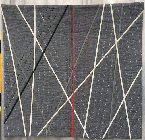 Joy Palmer, quilt, modern, applique, hand quilting,