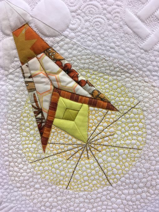 Sarah Sharp, Rachael Dorr, modern, quilt, quilting, long-arm, dragonfly, paper piecing, foundation, paper pieced, quiltcon, 2018, pasadena