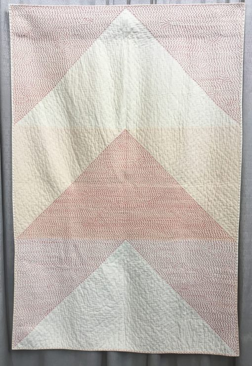 Heather Kinion, handwork, quilt, hand quilted, modern, art