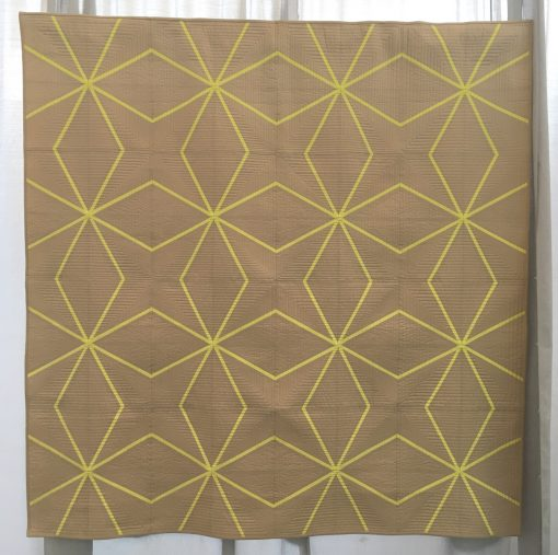 Nydia Kehnie, Gina Pina, paper piecing, foundation, paper pieced, solid, fabric, lines, modern quilt, long arm quilting, minimalist