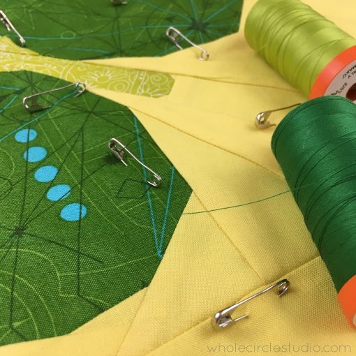 Want to hide imperfections in your quilting? Matching your thread to the area you're quilting is one of my biggest quilting tips! Want to make sure the thread is a good match? Unravel the thread an place it over the area you're planning on quilting.
