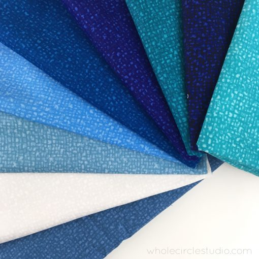 curated blues of Bedrock by Windham Fabrics
