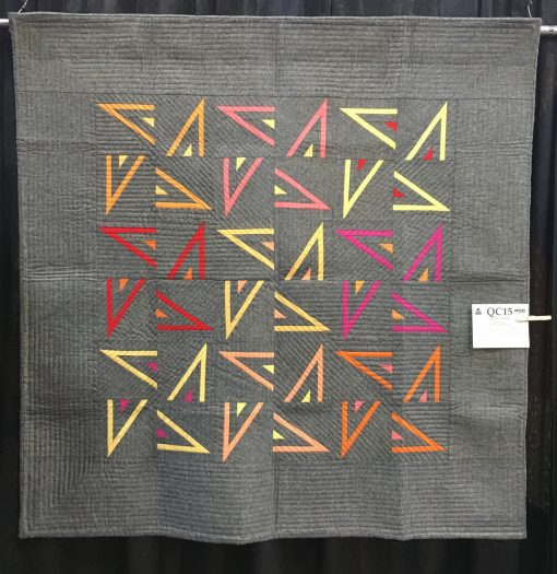 """Neon Lights"" by Jen Sorenson. Modern Piecing Category"