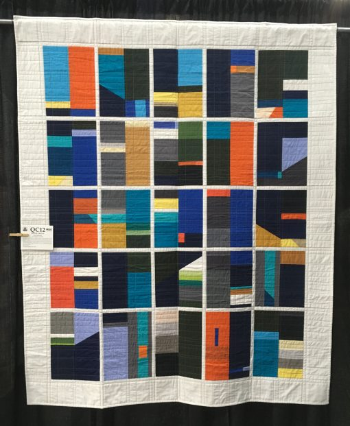 """Color Grid 01"" by Kari Anderson. Category: Improvisation Modern Quilt"
