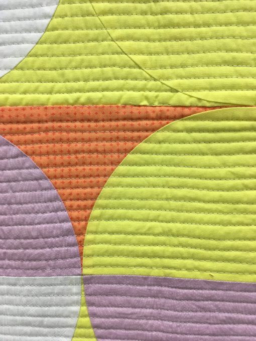 "detail of ""Tybee"" by Staci Meyr. Category: Modern Traditionalism Modern Quilt"
