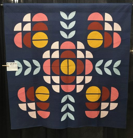 """Broadcast"" by Brigit Dermott. Category: Modern Traditionalism Modern Quilt"