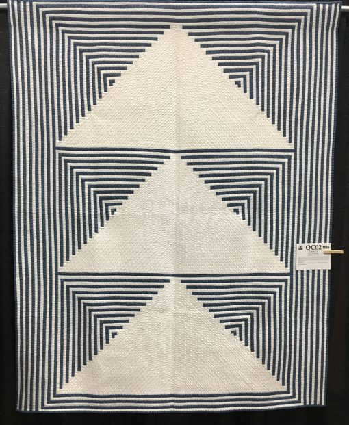 """Going Up"" by Stephanie Skardal. Category: American Patchwork & Quilting Flying Geese Quilt Challenge Modern Quilt."