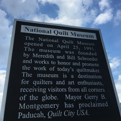 The National Quilt Museum Entrance