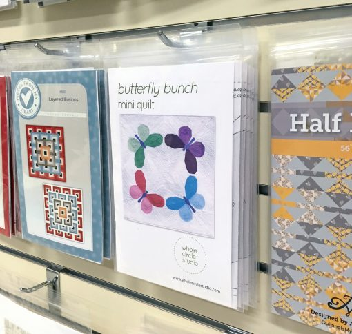 The National Quilt Museum Main Gift Shop: Butterfly Bunch Foundation Paper Piecing pattern by Whole Circle Studio