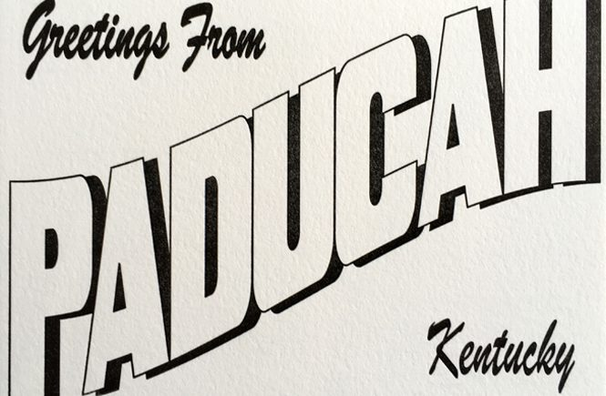 Postcard by Ephemera of Paducah, KY