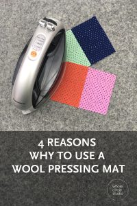 4 reasons you'll love using a wool pressing mat! Even though it's super rewarding to see my quilt blocks flat and finished, I'll be honest. Ironing and pressing is probably my least favorite part of quilting. I'm always looking for tools and tricks that make this part of my quilting life easier. I also tend to iron and press while streaming a movie to keep me motivated (and slightly distracted). Last year, I met Jon, the owner of Precision Quilting Tools at International Quilt Market.