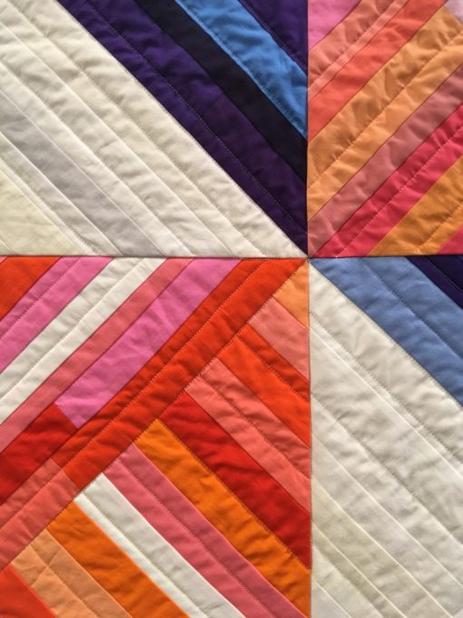 "detail of ""Barn Quilt"" by Renee Tallman"