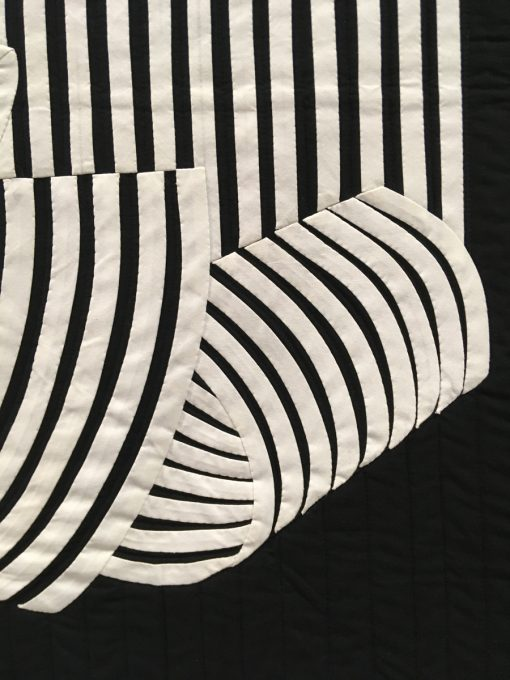 """detail of """"Curled"""" by Charlie Mankin"""
