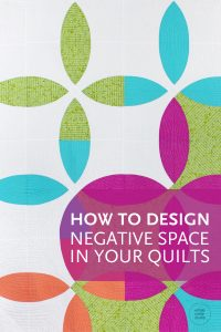 Check out the blog for tips on how to design negative space in your modern quilts. Quilt shown: Picnic Petals is a modern quilt based on a traditional Flowering Snowball block. This tested pattern contains both detailed instructions and diagrams, making it easy to piece. Instructions are provided for three sizes: Throw, Twin and Queen. Designed by and available at wholecirclestudio.com