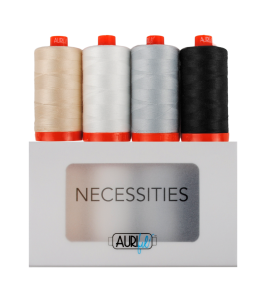 Aurifil Thread Collection 50 Weight Necessities