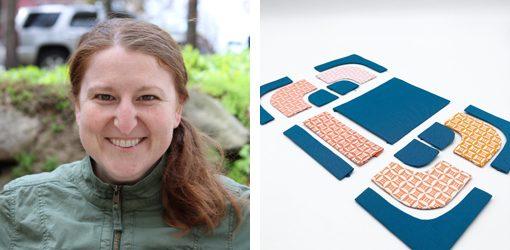 Tara Curtis Zippered Pouch Quilt Block