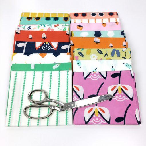 Summer Side, designed by Dana Willard for Art Gallery Fabrics.