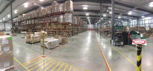 Missouri Star Quilt Company warehouse