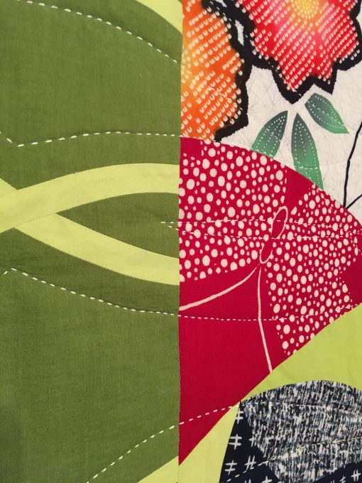 "detail of ""Leaf & Berry"" by Patricia Belyea"