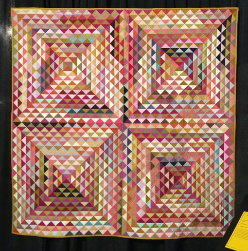 """Railroad Crossing Quilt"" by Tara Faughnan"